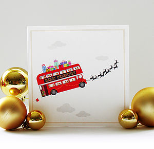 London Collection   Christmas Card - cards