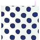 Pois Tea Towel Black