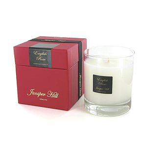 English Rose Scented Candle - candles & candlesticks