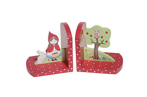 Red Riding Hood Bookends