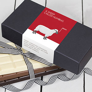 Funny Christmas Chocolate Bar Box Set - chocolates