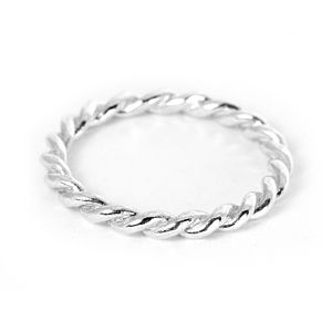 Silver Lace Single Ring