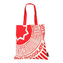 Tunnock's Teacake Wrapper Canvas Tote Bag