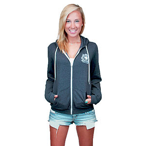 Emily Zip Hoody - lounge & activewear