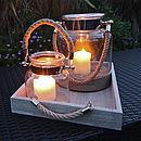 Salcombe Bell Jar Hurricane Lantern