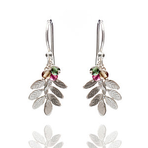 Leaves Hook Earrings - earrings