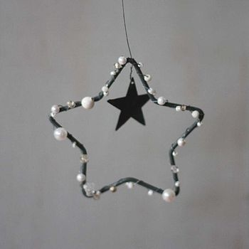 Zinc Beady Star