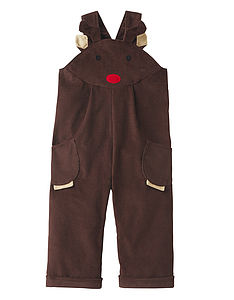 Reindeer Dungarees For Children