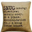 'Snug' Definition Cushion Cover