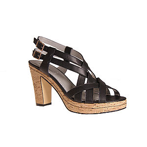 Women's Large Sized Platform Sandal 50% Off - shoes