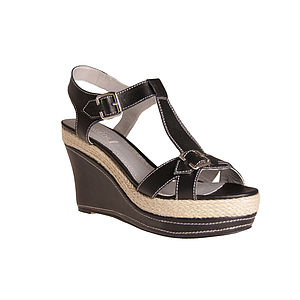 Women's Large Sized Wedge Sandal 50% Off - sandals