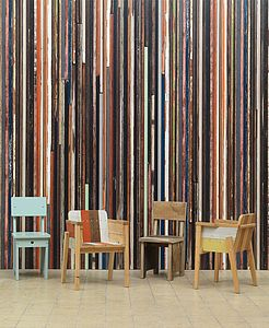 Scrapwood Wallpaper Phe 15 - home decorating