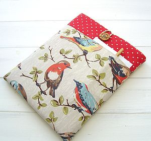 Case For iPad In Cath Kidston Birds Print