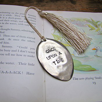 'Once Upon A Time' Vintage Spoon Bookmark