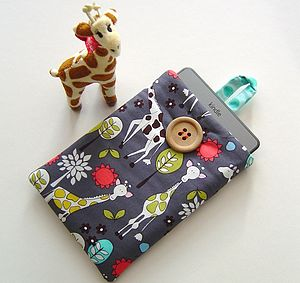 Children's Kindle Case With Giraffes