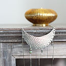 Metal Breast Plate Necklace