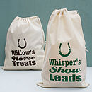 Personalised Horse Feed Storage Sack