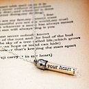 Poetry Message In A Bottle I Carry Your Heart