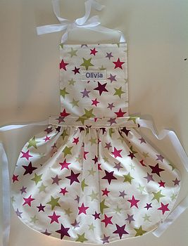 Kids Personalised 1950's Apron