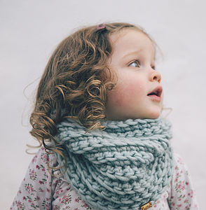 Children's Snood Cowl - children's scarves