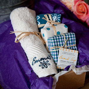 Organic Shea Butter Soap Gift Box - gift sets