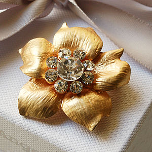 Vintage Style Buttercup Brooch - pins & brooches