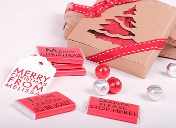 Christmas Notes Gift Box