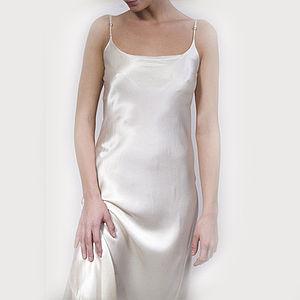 Long Silk Gown - lingerie & nightwear