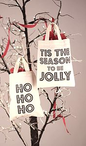 Christmas Mini Shopper - stockings & sacks