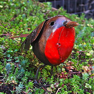 Robin Garden Ornament - art & decorations
