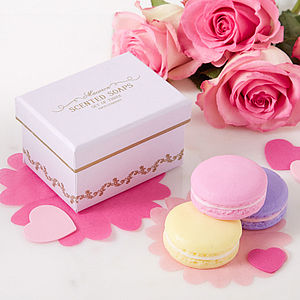 Gift Boxed Macaron Soap Set - bath & body