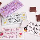 Personalised Party Chocolates
