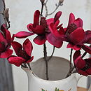Red Magnolia Spray