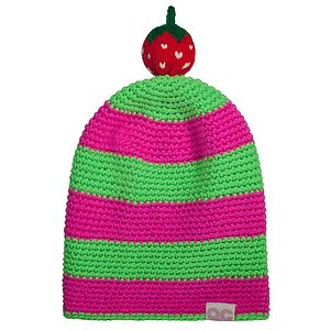 Strawberry Frubie Hat - hats, scarves & gloves