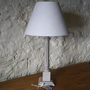 Handpainted Oxford Table Lamp