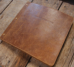 Leather Photo Album - home accessories