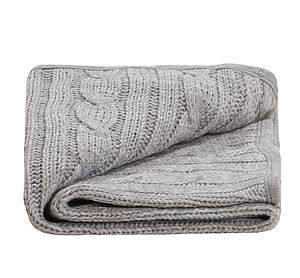Unisex Baby Knitted Blanket - blankets, comforters & throws