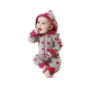 Baby Girl All-In-One Incl. Lilly & Sid Card - babygrows