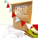 Crafty Bag D.I.Y Mini Leather Bunting