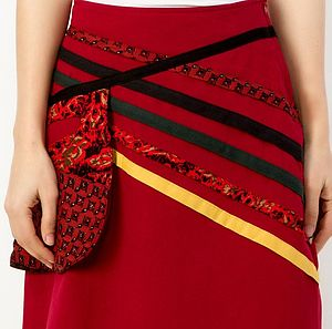 Pouch Pocket Skirt - skirts