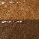 Caramel & Chocolate Leathers