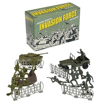 Invasion Force Toy Soldiers Play Set