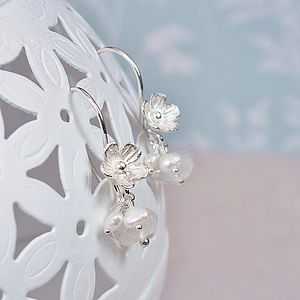 A Pair Of Blossom Earrings - earrings