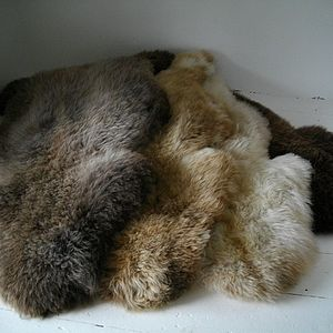 Herdwick Sheepskin - bedroom