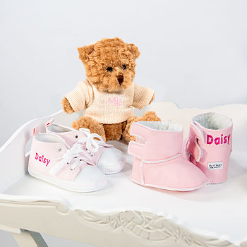 Three Piece Girl's Personalised Gift Set