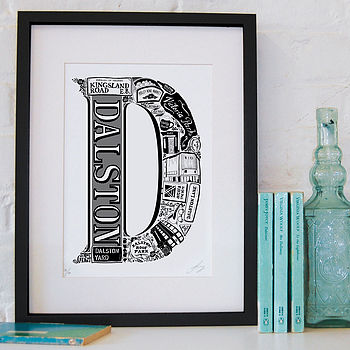 Best Of Dalston Screenprint