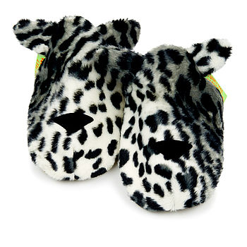 Snow Leopard Soft Baby Shoes