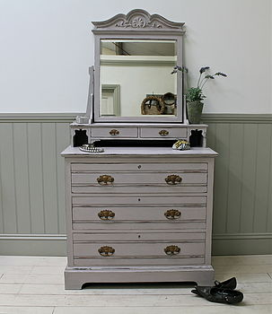 Painted Edwardian Dressing Chest