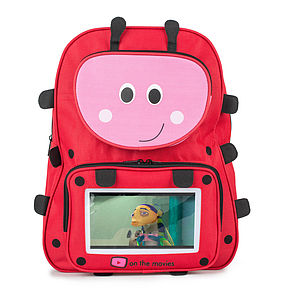 Child's Ladybird Tablet Pocket Backpack