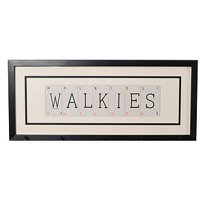 Walkies Dog Lead Hanger - dogs